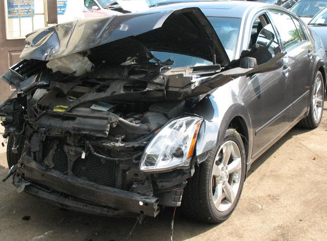 Contact Damage From Traffic Accident